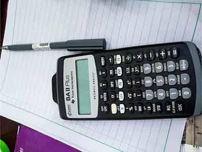 cfa考试要金融计算器吗